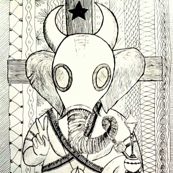 Anna Solo. Ganesha-atheist - photo 1