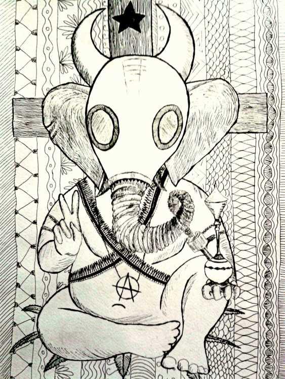 Anna Solo. Ganesha-atheist - photo 2