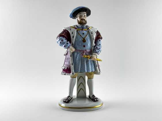 "Porcelain figurines ""Henry VIII and his wives"". Germany, Sitzendorf, handmade, 1918 - 1949 gg. - photo 2"