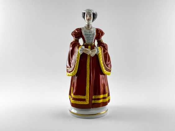 "Porcelain figurines ""Henry VIII and his wives"". Germany, Sitzendorf, handmade, 1918 - 1949 gg. - photo 6"