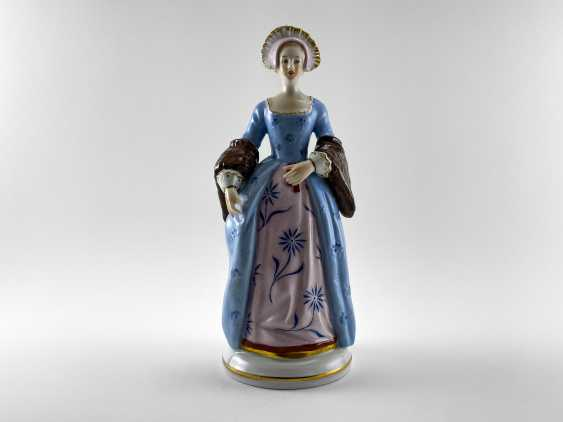 "Porcelain figurines ""Henry VIII and his wives"". Germany, Sitzendorf, handmade, 1918 - 1949 gg. - photo 8"