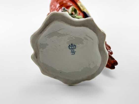 "Porcelain figurine ""Parrot"". Germany, Sitzendorf, handmade, 1918-1949gg. - photo 5"