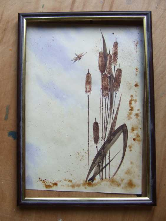 Natasha Mishareva. Reeds and a dragonfly. 2020. Handmade. The Author - Natalia Pisareva - photo 2