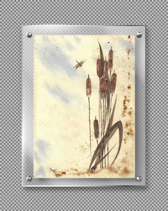 Natasha Mishareva. Reeds and a dragonfly. 2020. Handmade. The Author - Natalia Pisareva - photo 4