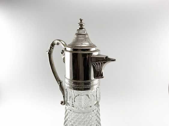 "Vintage jug ""Ship"". Europe, glass, silver, 1960s - photo 2"