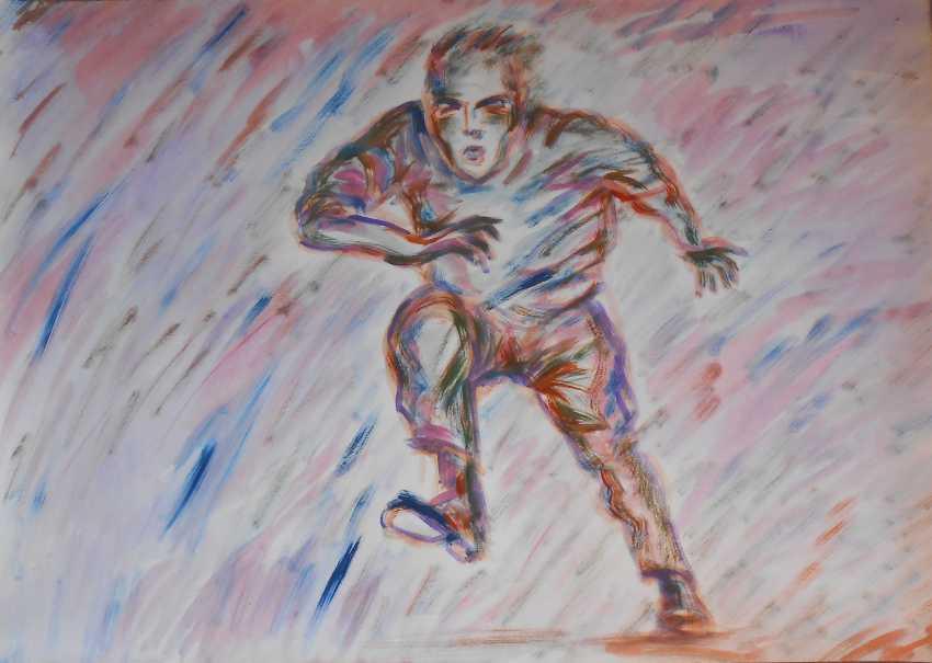 Igor Behter. Running man - photo 1