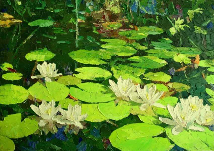 Mikhail Rudnik. Water lilies - photo 1