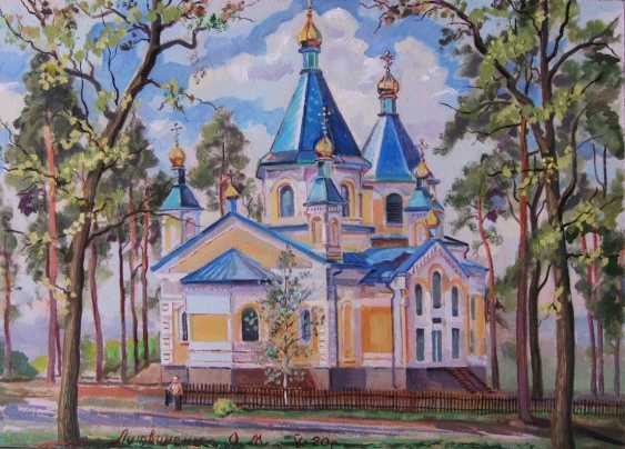 Oleg Lytvynenko. Church on Melniki. - photo 1