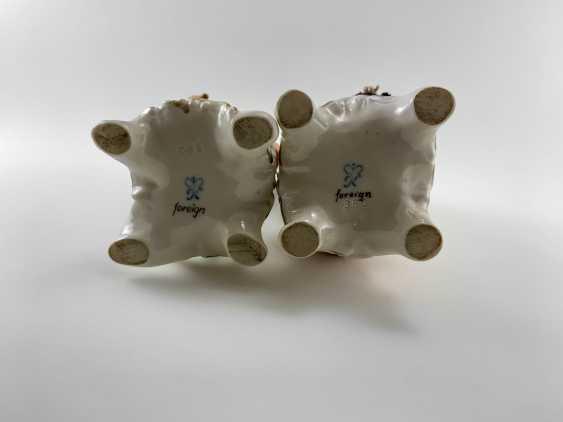"""Porcelain figurine """"the Gardener"""". Germany, Rudolf Kämmer, handmade, 1953-1972 - photo 5"""
