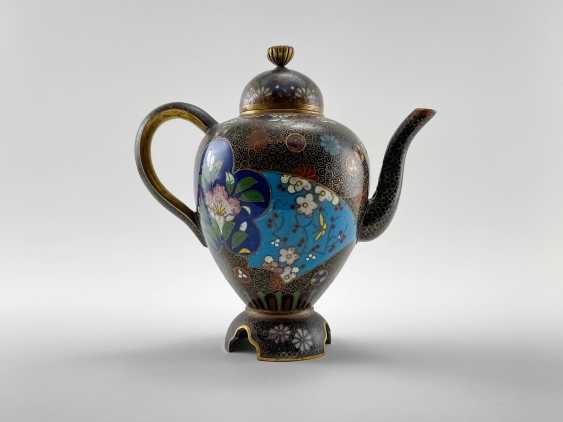Kettle Segun. Japan, enamel, handmade, Meiji period 1868 - 1912gg. - photo 1