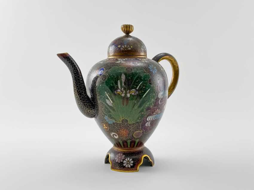 Kettle Segun. Japan, enamel, handmade, Meiji period 1868 - 1912gg. - photo 2