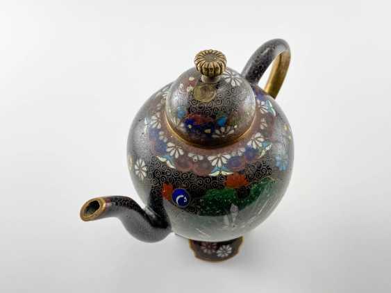 Kettle Segun. Japan, enamel, handmade, Meiji period 1868 - 1912gg. - photo 3