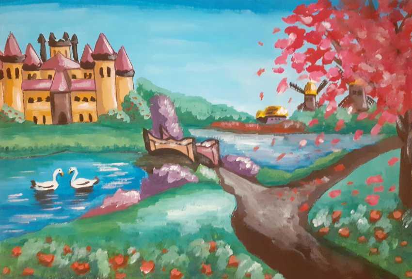 Daria Kornienko. Fairytale castle - photo 1