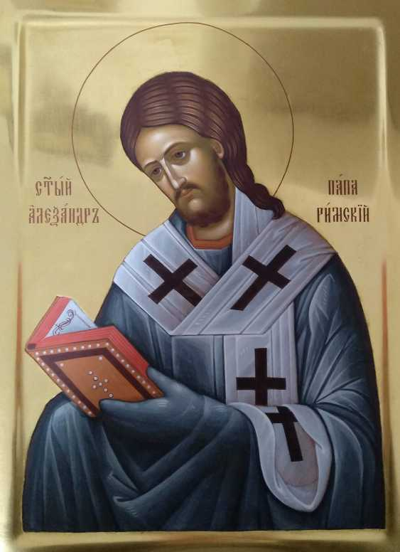 Natali Ruda. The Image Of The Holy Martyr Alexander Pope - photo 1