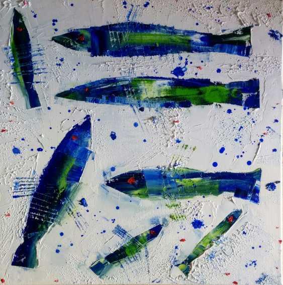 Olga Polichtchouk. Blue sardine Sicily - photo 1