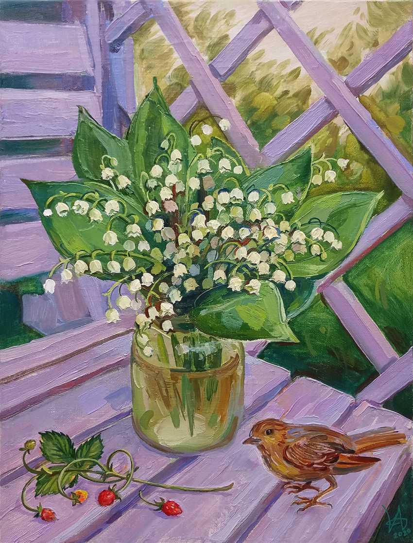 """Irina Andreieva. """"In der Mai-Garten"""" - Foto 1"""