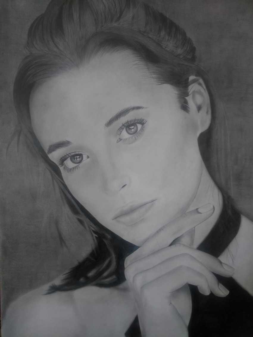 Stanislav Selikh. Portrait of a Girl # 1 - photo 1
