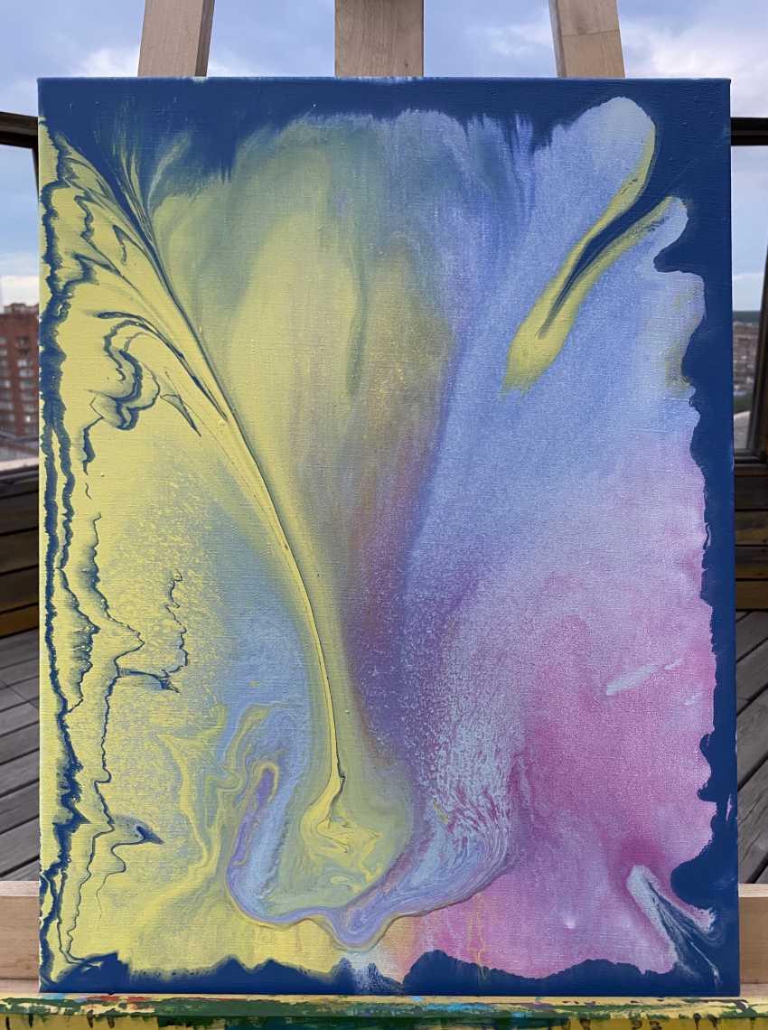 Alice Repnikova. Yellow paint - photo 1