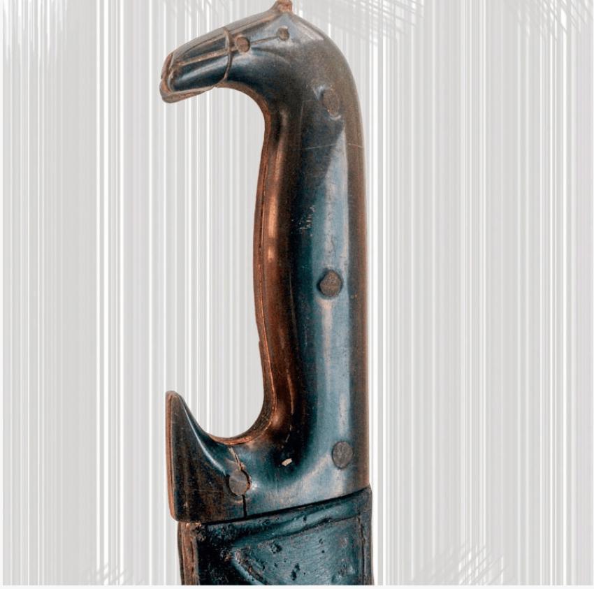 Антикварный Персидский Кинжал - фото 4
