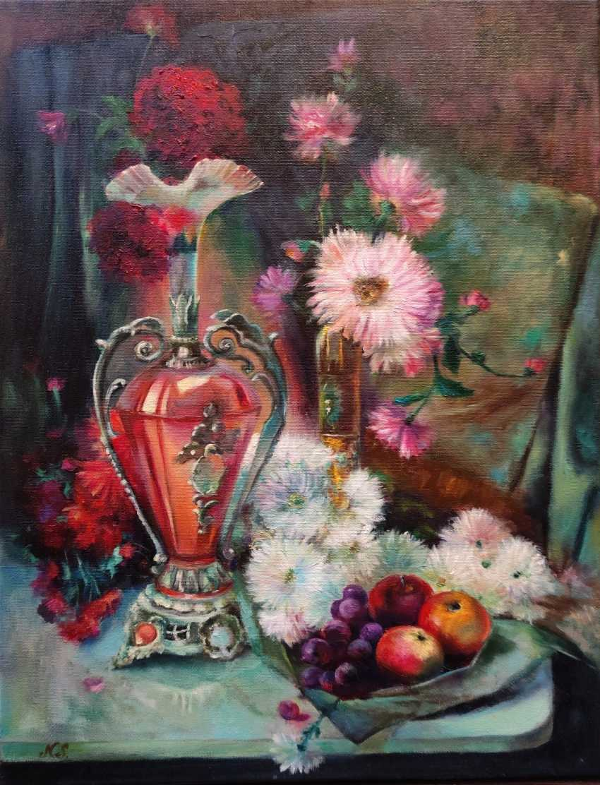 Nata Sar. Still life with fruit and flowers - photo 1