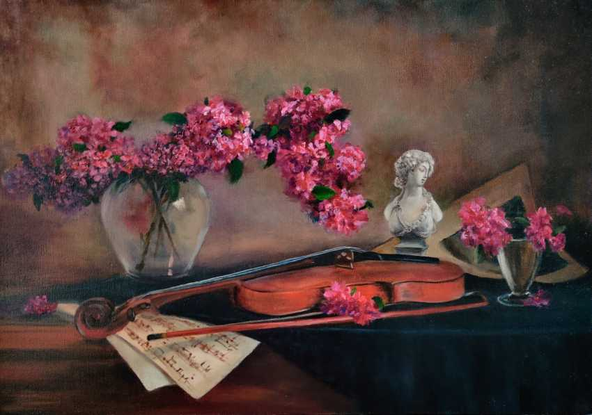 Nata Sar. Still life with violin - photo 1