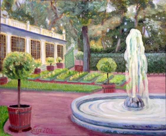 Alla Senatorova. The garden of Tsar Peter I - photo 1
