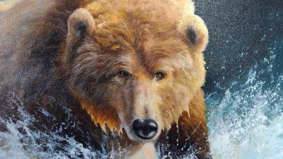 "ANDREI ANDREEV. ""Bear running through water"" - photo 2"