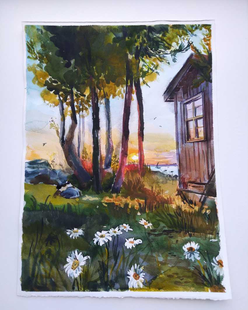 Uljana Kopylova. Morning - photo 1