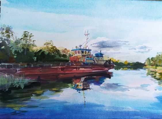 Uljana Kopylova. On the canal of Ladoga - photo 1