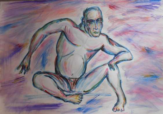 Igor Behter. Choosing a pose - photo 1