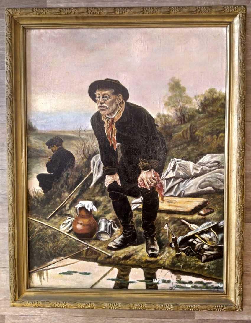 """Viktoria Stele. """"Angler"""" Vasily Grigorievich Perov - photo 1"""