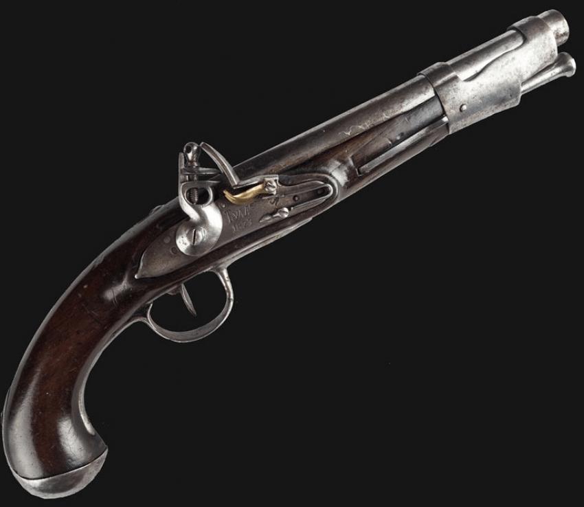 Russian Flintlock Pistol - photo 1