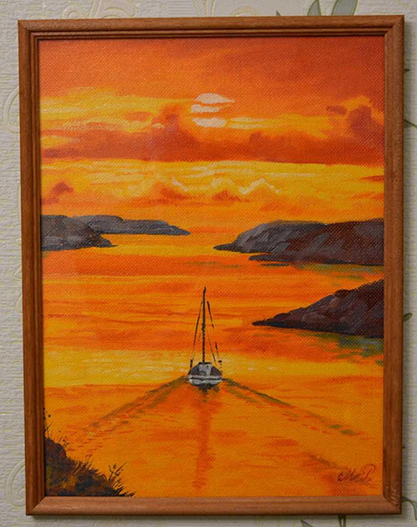 "RUFINA MOROZOVA. ""Sunset"" - photo 1"