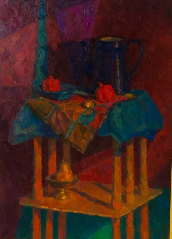 Rima gima. Still life with blue kettle - photo 1