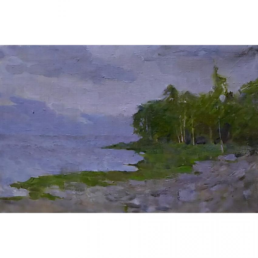 Svetlana Verbovskaya. Twilight on the Gulf of Finland. - photo 1