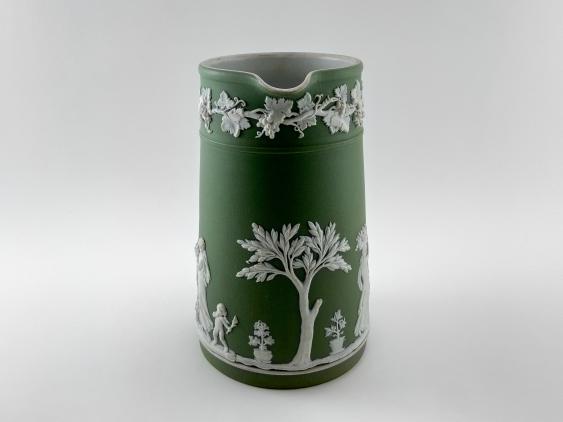 "Jug Wedgwood ""Vine"". Neo-classicism, England, biscuit porcelain, handmade. 1891 - 1908 - photo 3"