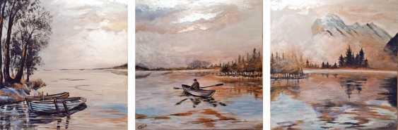Sitora Brejneva-Muradova. Triptych landscape - photo 1