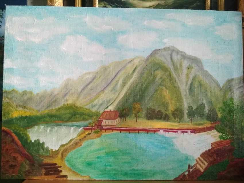 Elena Kozar-Gurina. Mill in the mountains. Mill in the mountains. - photo 1