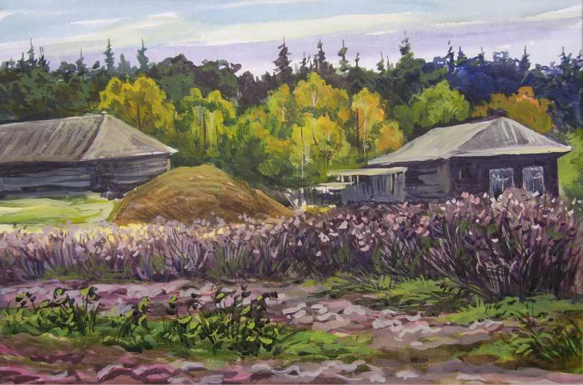 "Alexander Samokhvalov. ""Overgrown with grass"" - photo 1"