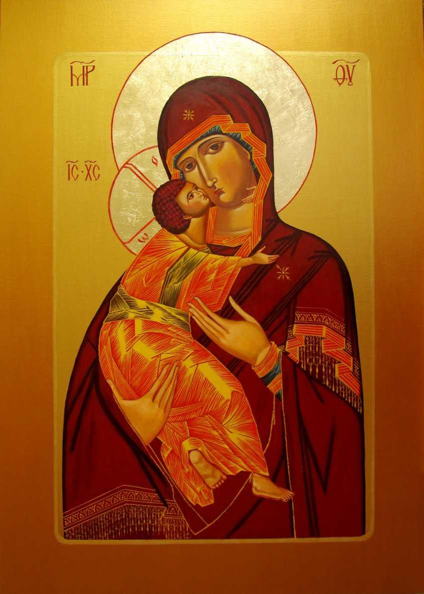 "Sergiy Roy. ICON ""VLADIMIR'S MOTHER OF GOD"" - photo 1"