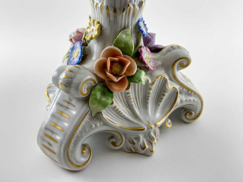"Porcelain vase for fruit ""Brume"". Germany, Plaue, 1927 - 1973 - photo 2"