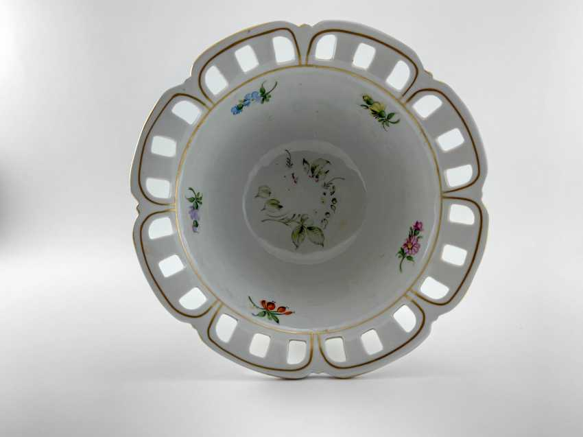 "Porcelain vase for fruit ""Brume"". Germany, Plaue, 1927 - 1973 - photo 3"