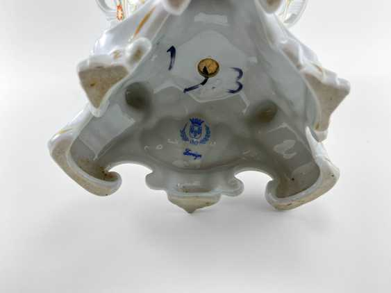 "Porcelain vase for fruit ""Brume"". Germany, Plaue, 1927 - 1973 - photo 4"
