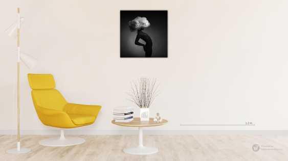 Refat Mamutov. BLACK MODEL AND BIG WHITE HAT 4. - photo 2