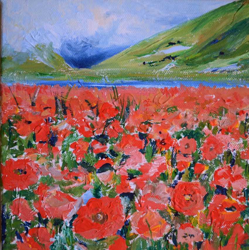 Anna Romaschenko. Field of poppies - photo 1
