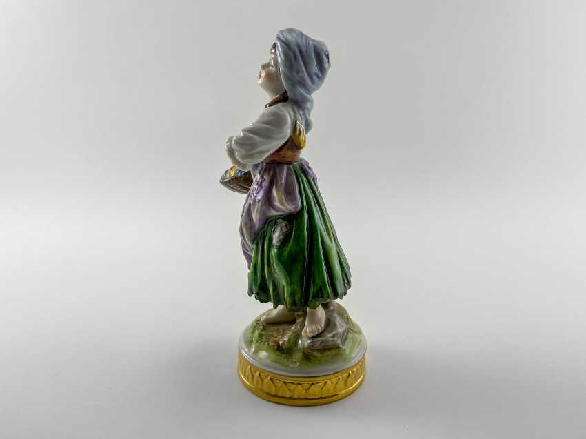 "Porcelain figurine ""Floraison"". Germany, Volkstedt, perfect condition, 1945 - 1951 - photo 2"