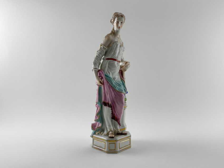 "Porcelain figurine ""Athena"". Germany, Rauenstein, perfect condition, handmade, 19th century - photo 1"