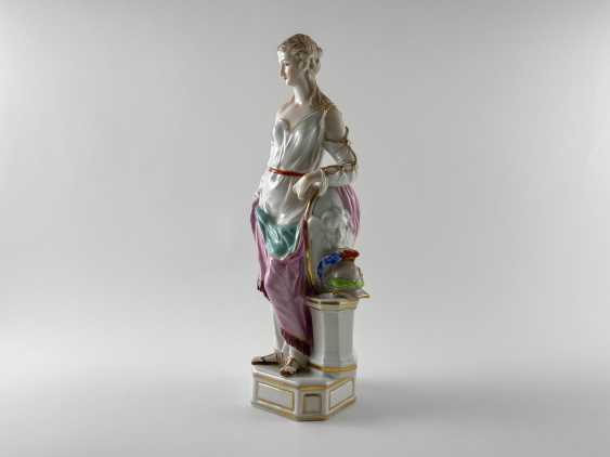 "Porcelain figurine ""Athena"". Germany, Rauenstein, perfect condition, handmade, 19th century - photo 2"