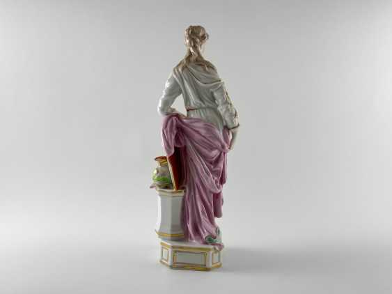 "Porcelain figurine ""Athena"". Germany, Rauenstein, perfect condition, handmade, 19th century - photo 3"