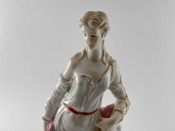 "Porcelain figurine ""Athena"". Germany, Rauenstein, perfect condition, handmade, 19th century - photo 4"